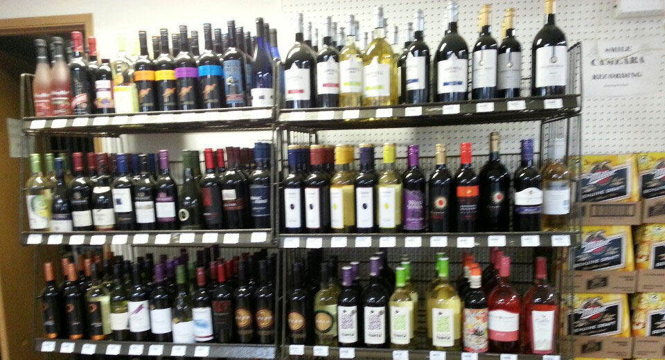 Liquor & Cooler Beer & Wine Sale
